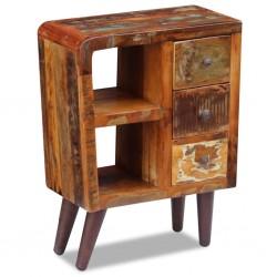 vidaXL Armario de aglomerado gris hormigón 80x52x180 cm