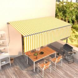 500 g/m² Bata de algodón unisex de color azul, talla L