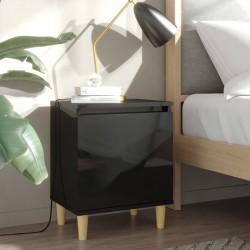 vidaXL Estantería de 4 niveles de aglomerado gris 40x24x142 cm