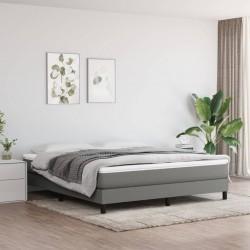 vidaXL Estantería de 4 niveles aglomerado gris hormigón 40x24x142 cm