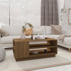 vidaXL Estantería de 4 niveles aglomerado gris brillante 40x24x142 cm