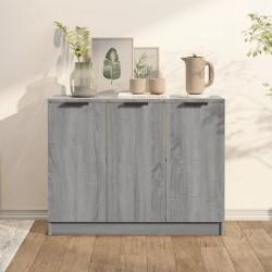 vidaXL Estantería librería 5 niveles de aglomerado blanco 40x24x175 cm