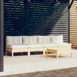 vidaXL Estantería 3 niveles aglomerado blanco brillante 60x30x114 cm