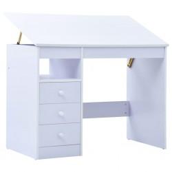 vidaXL Armario de almacenamiento aglomerado blanco 60x29,5x90 cm