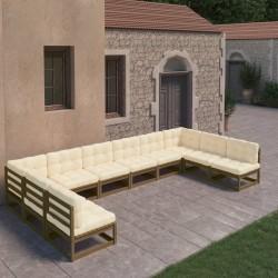 vidaXL Mesa de póker 10 jugadores bandeja de fichas y zona de crupier