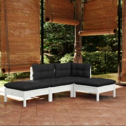 vidaXL Tablero de póker plegable en 3 partes 9 jugadores ovalado verde