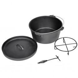 vidaXL Kart correpasillos con pedales rojo