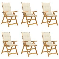 Asiento de barco con respaldo plegable, gris, con almohada blanca/azul