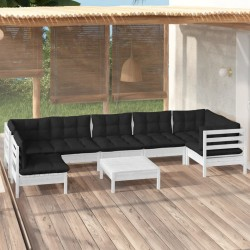vidaXL Bicicleta estática magnética X con pulsómetro negra y azul