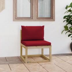 vidaXL Patinete con mochila para niños azul