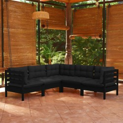 Manta de Lana con Cinchas 135 cm (Azul)