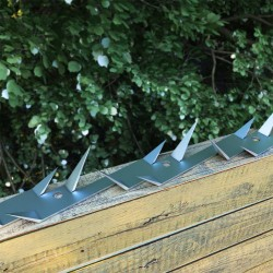vidaXL Perrera jaula de exterior con toldo 4x2x2,4 m