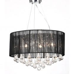 vidaXL Mochila de senderismo 40 L negra y verde