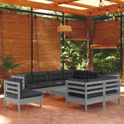 vidaXL Filtro de arena de piscina válvula de 6 posiciones azul 460 mm