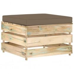vidaXL Cuerda marina de polipropileno 12 mm 50 m negra