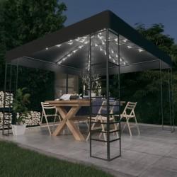 vidaXL Cuerda trenzada de polipropileno 6 mm 200 m naranja