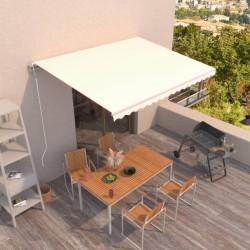 vidaXL Cuerda trenzada de polipropileno 10 mm 100 m naranja
