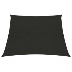 vidaXL Plato de ducha rectangular ABS negro 80x110 cm