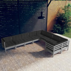 vidaXL Trineo de nieve de carreras Bob negro y azul
