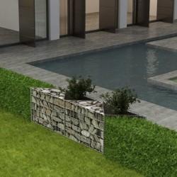 vidaXL Tienda de campaña vigas hinchables 320x170x150/110cm azul+verde