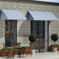 vidaXL Tienda de campaña con vigas hinchables 500x220x180 cm azul