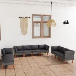 vidaXL Filtro de arena de piscina válvula de 4 posiciones gris 350 mm