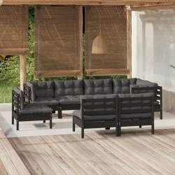 vidaXL Columpio 110 cm 150 kg azul