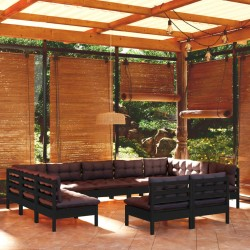 vidaXL Maletín trolley de maquillaje de aluminio negro