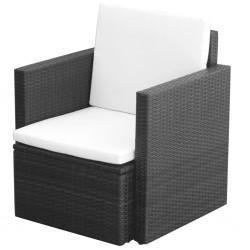 vidaXL Cajas de almacenamiento 3 unidades aluminio plateado