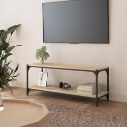 vidaXL Maleta con ruedas trolley rígida plateada ABS