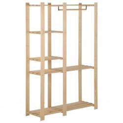 vidaXL Juego de maletas rígidas ruedas trolley 3 pzas rosa dorado ABS