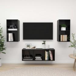 vidaXL Bicicleta estática con resistencia de cinta negro