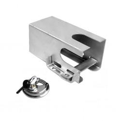 vidaXL Bicicleta de spinning con sensores de pulso blanca y roja