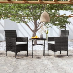 vidaXL Cubierta de piscina PE negra 381 cm