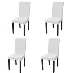 vidaXL Defensas para barco 2 unidades PVC blanco 69x21,5 cm