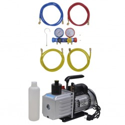 vidaXL Mesa de comedor de madera maciza de sheesham y acero 180 cm