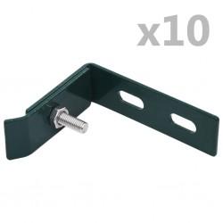 vidaXL Estor enrollable de exterior naranja y marrón 60x250 cm