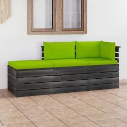 vidaXL Estor enrollable de exterior azul y blanco 80x250 cm