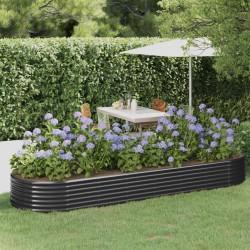 vidaXL Desagüe de ducha con cuadrados de acero inoxidable 20x20 cm