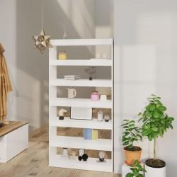 vidaXL Láminas autoadhesivas muebles PVC blanco 500x90 cm