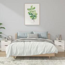 vidaXL Kit de cajas de almacenaje 96 piezas con paneles de pared azul