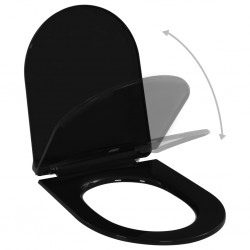 Lavabo de cerámica con agujero para grifo/desagüe negro redondo