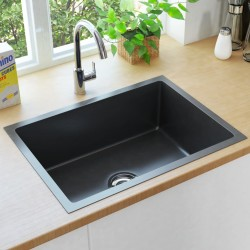 vidaXL Puerta de valla de acero gris antracita 106x250 cm