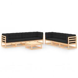 vidaXL Inodoro colgante de pared con cisterna oculta negro