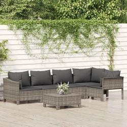 vidaXL Sillas reclinables de jardín 2 unidades aluminio negro