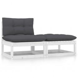vidaXL Invernadero de aluminio gris antracita 9,31 m²
