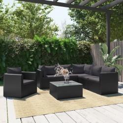 vidaXL Soporte con ruedas de plantas 6 uds plástico color bronce 30 cm