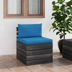 vidaXL Puerta de jardín de listones madera de pino impregnada 100x60cm