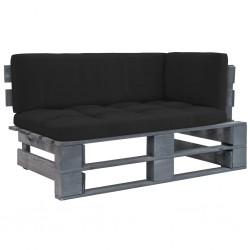 vidaXL Puerta de listones jardín de madera pino impregnada 100x100cm