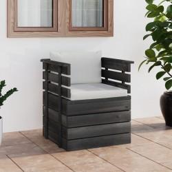 vidaXL Puertas listones jardín 2 uds madera pino impregnada 150x60 cm